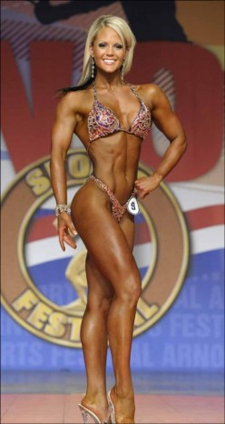 Top Ten IFBB Pro Figure Competitors of 2011