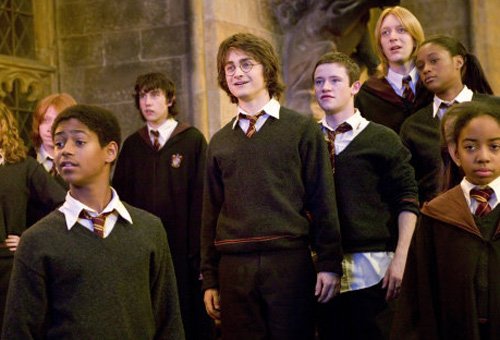 By the time of The Goblet of Fire the children were looking a little too old