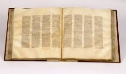 The world's oldest bible, the Codex Sinaiticus