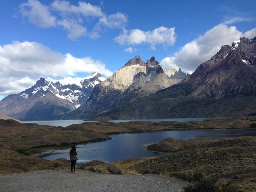 Impressive lakes can be discovered on Patagonia treks