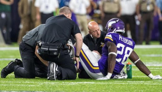 The Eagles won't miss injured Minnesota Vikings RB Adrian Peterson