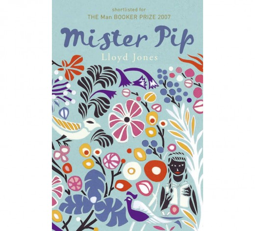 Floral cover of Mr Pip by Lloyd Jones