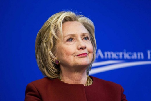 Hillary R. Clinton - 2016 Democrat Party Candidate for President.