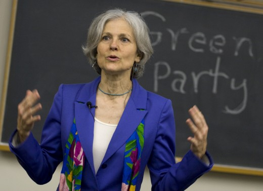 Jill Stein - 2016 Green Party Candidate for President.