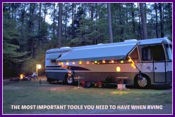 What You Need to  Have in  Your Tool Box When RVing