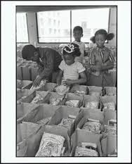 Free Food Program started by the Black Panther Party