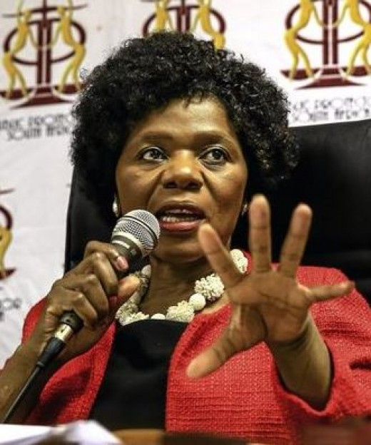 Advocate Thuli Madonsela, Public Protector (19 October 2009 to 14 October 2016)