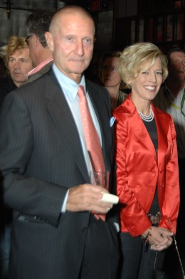 Meredith Michaels-Beerbaum with the esteemed George Morris.