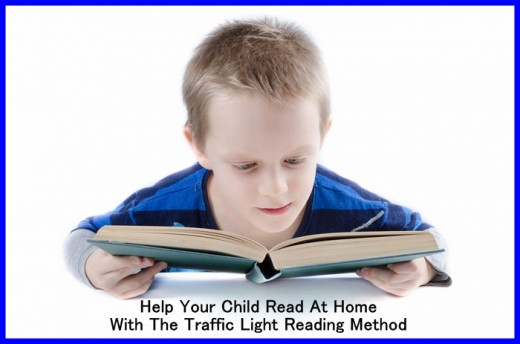 Help your child to read at home with our tips on using the traffic light reading method