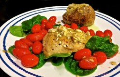 Greek Feta Chicken Recipe With Tomatoes And Tomato Basil Feta Cheese