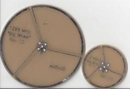1290 MHz wheel antenna versus 2400 MHz wheel antenna