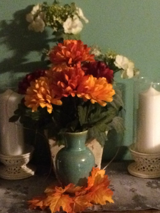 Take Center stage with a Fabulous Fall Centerpieces. Place it on your Buffet or Hutch, the choice is yours.