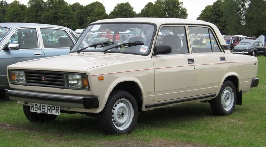 You can still see this car on the streets of Eastern Europe. It was produced until 2010