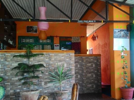 The interior of Joy's Restaurant & Bar