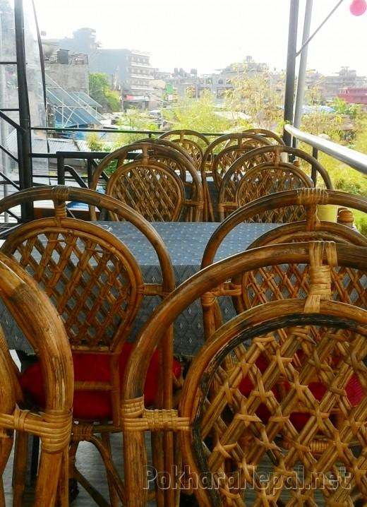 Seating at Joy's Restaurant & Bar