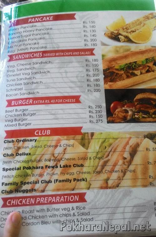Joy's Restaurant & Bar menu