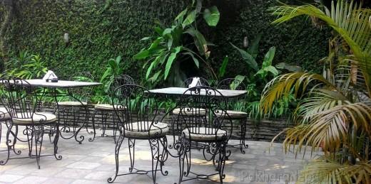 Gurkha's Restaurant outside seating