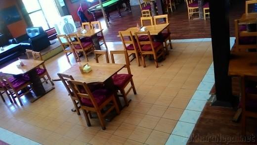 Godfather's Pizzeria seating