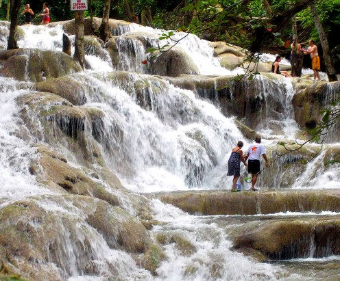 Dunn's River Falls is one of the top 10 attractions in the Caribbean.