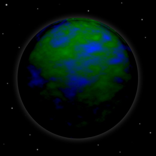 an earth planet for my blog Layertivity