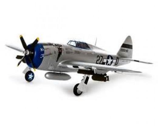 P-47 Razorback RC Plane