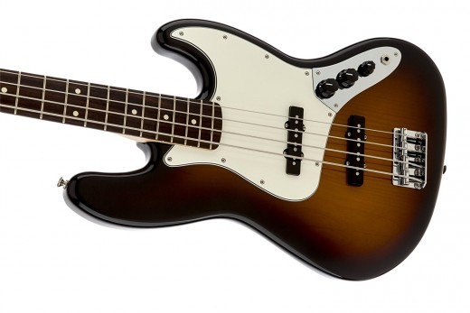 The Fender Standard Jazz Bass is a great choice for mid-level musicians.
