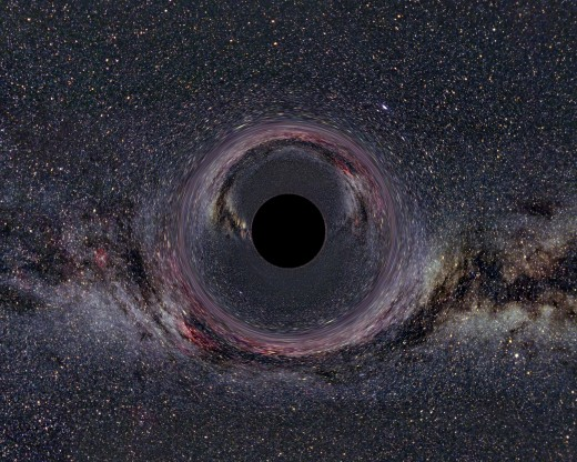 Real Picture of a Black Hole Provided by NASA