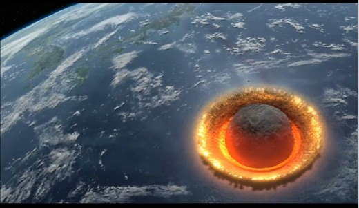 What an Asteroid Hitting Earth Could Look Like