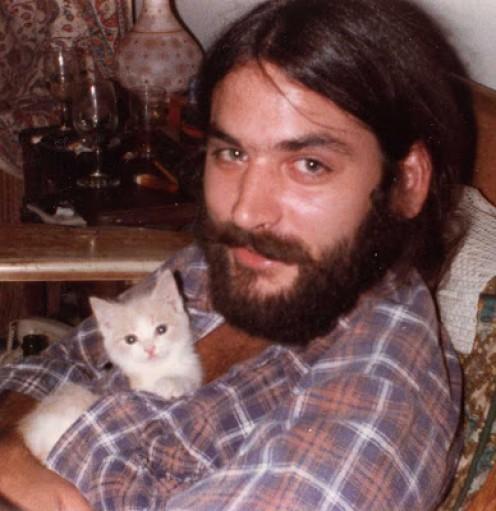 Prissy the kitten loves cuddling