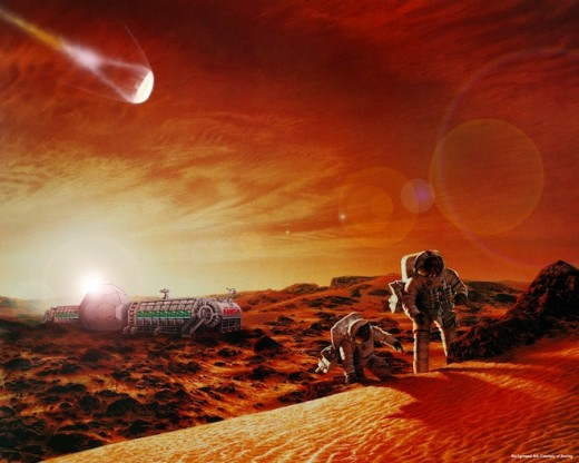 People Working to Colonize Mars