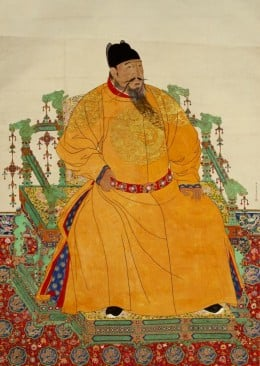 Emperor Yongle. It was he who shifted the Chinese capital to Beijing, and commissioned the Forbidden City.
