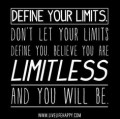 What is the meaning of the words Limitless, and limitlessness