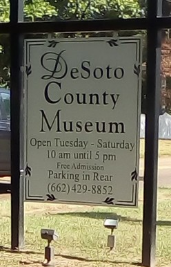 Traveling Around - Hernando, Mississippi - DeSoto County Historical Museum
