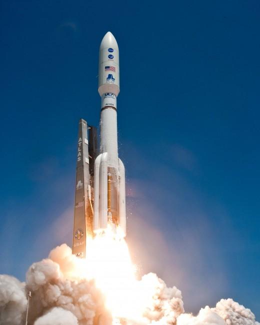 NASA Atlas Rocket Launch