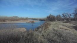THe River Platte near Fort Morgan, Colorado