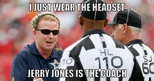 Dallas Cowboys head coach (?) Jason Garrett