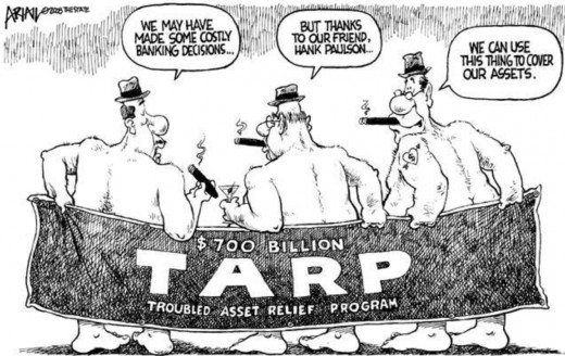 "Congress, the FED and the Treasury bailed out their ""friends'. 99% of Americans suffered."