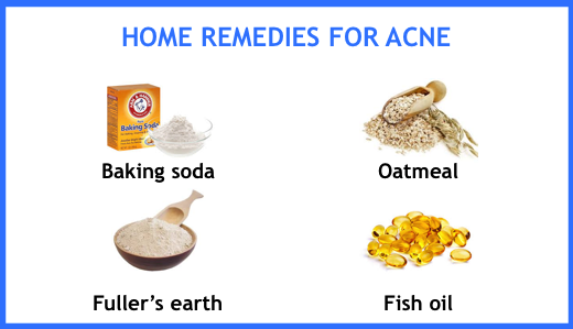 How to get rid of acne naturally? Fortunately, there are a number of home remedies that can help as well. These include baking soda, oatmeal, fuller's earth, and fish oil.