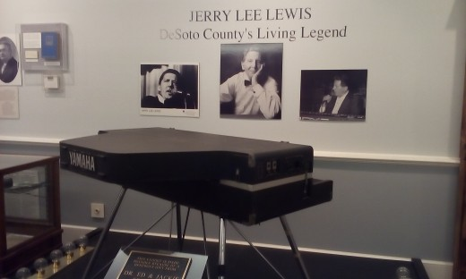 Tribute to Jerry Lee Lewis, DeSoto County Historical Museum, Hernando, FL