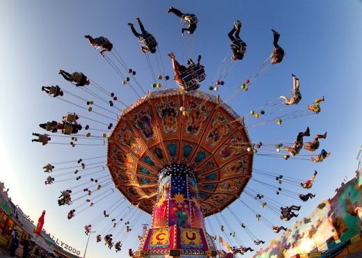 "On Merry-Go-Round of Life We Don't ""Arrive""  -  It's the Process that's Worth Experiencing"