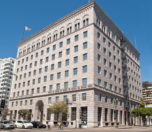 Standard Oil building in Los Angeles from 1926(?).