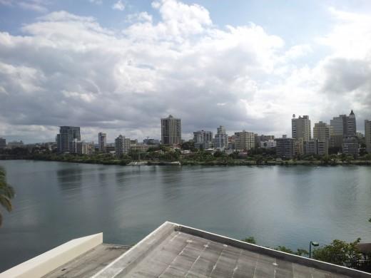 Overlooking the Condado Lagoon
