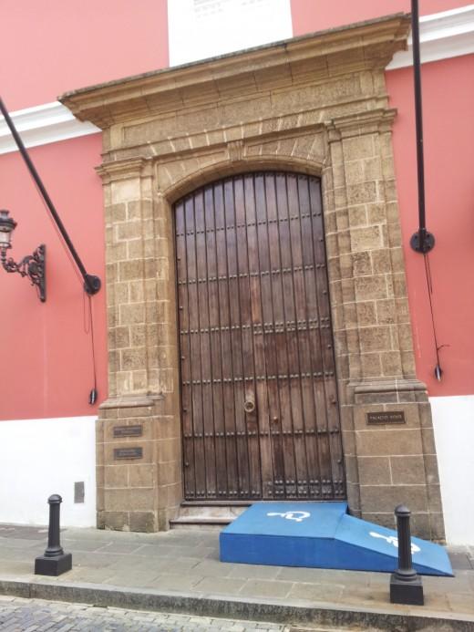 Huge Door