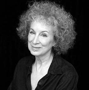 Margaret Atwood was born in 1939 in Ottawa, Ontario. She earned a BA from Victoria College, University of Toronto, and an MA from Harvard. Photo credit: George Whiteside