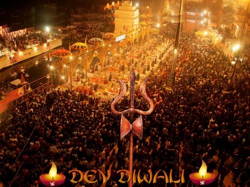 Dev Diwali in Varanasi, India