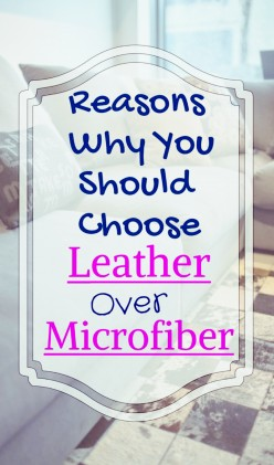 Reasons Why You Should Choose Leather Over Microfiber
