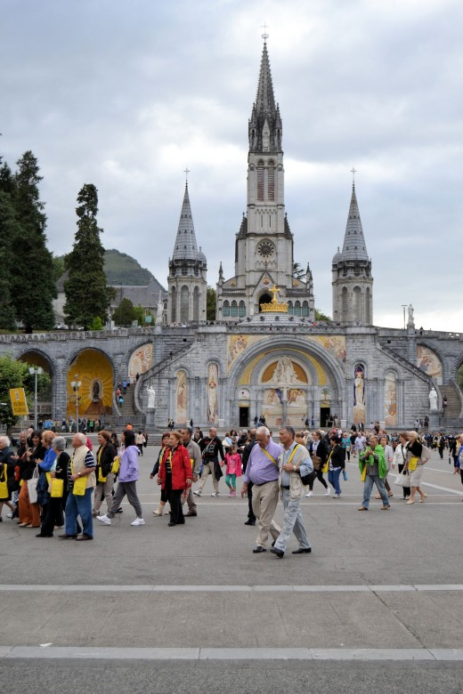 With All those Folks there at Lourdes Expecting to Be Healed  -  Who wouldn't Have Faith in Their Own Miracle?