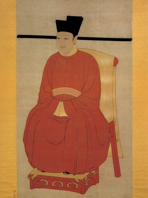 Zhao Ji, incidentally, is the reigning emperor in the Chinese literature classic, Water Margin.