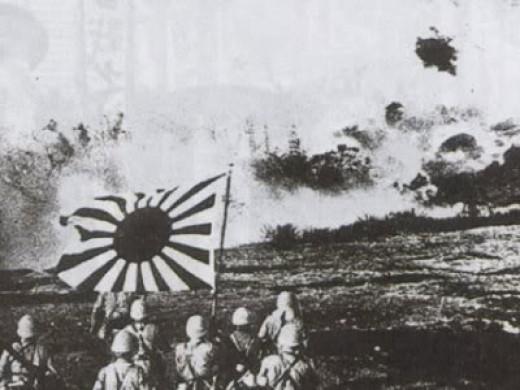 Similar to defenders of Okinawa.