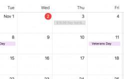 ICloud - block calendar $19.99 Ray Ban sunglasses spam?